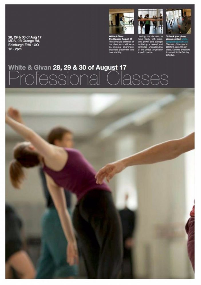 White & Givan Professional Classes August 17