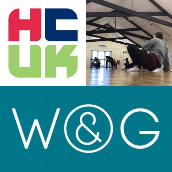W&G, 1st day with the dancers from Hull College!